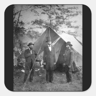 Maj. Allan Pinkerton_War Image Square Sticker