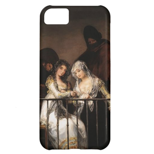 Majas on a Balcony by Francisco Goya iPhone 5C Cases