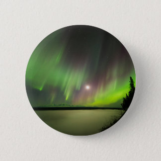 Majestic Aurora 2 Inch Round Button
