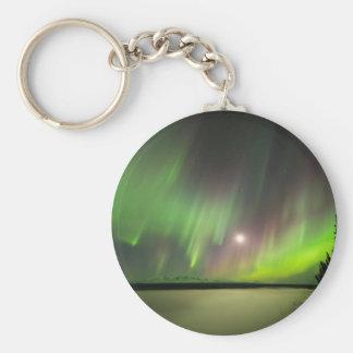 Majestic Aurora Keychain