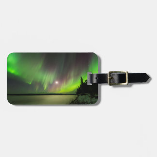 Majestic Aurora Luggage Tag