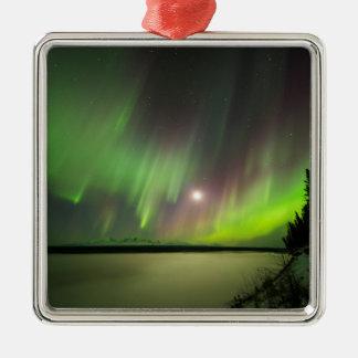 Majestic Aurora Metal Ornament