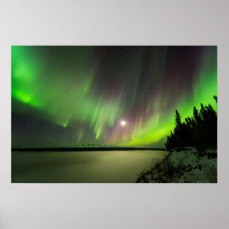 Majestic Aurora Poster