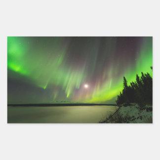 Majestic Aurora Sticker