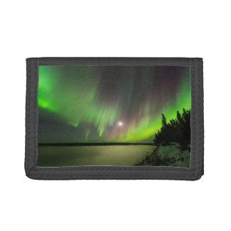 Majestic Aurora Tri-fold Wallets