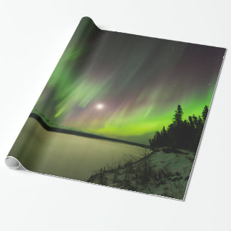Majestic Aurora Wrapping Paper