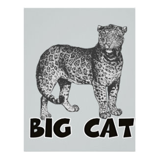Majestic Big Cat Multi Gifts Selected Letterhead Template
