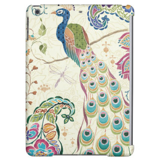 Majestic Blue Peacock Cover For iPad Air