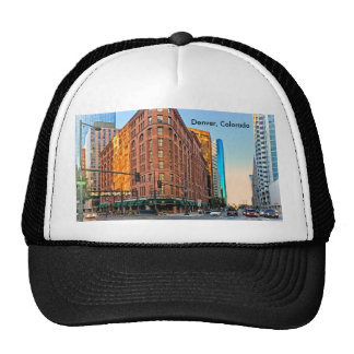 Majestic Brown Palace Hotel At Sunset, Denver, CO Trucker Hat