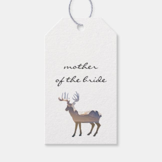 Majestic Deer Wedding Escort Card Pack Of Gift Tags