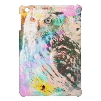 Majestic Eagle Owl Digital Watercolor Case For The iPad Mini