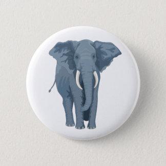 Majestic Elephant 2 Inch Round Button