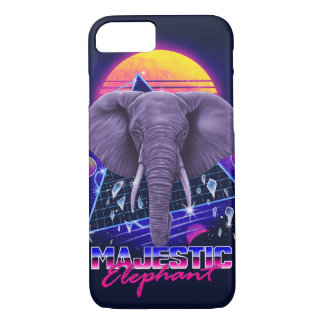 Majestic Elephant phone case