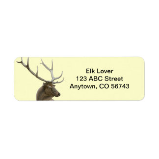 Majestic Elk Buck Customizable