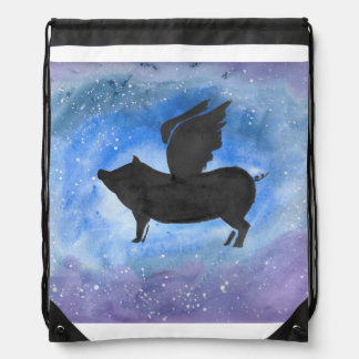 Majestic Flying Pig Backpack