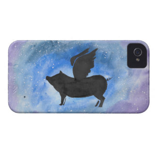 Majestic Flying Pig Case-Mate iPhone 4 Cases