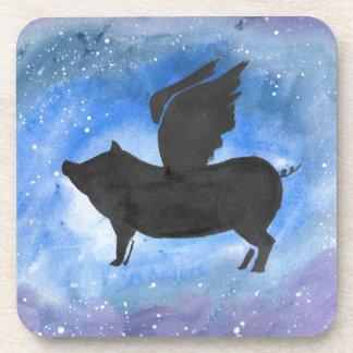 Majestic Flying Pig Coaster
