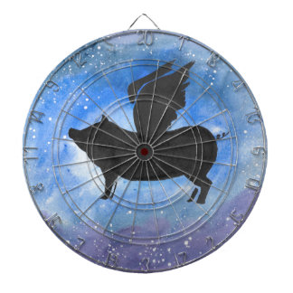 Majestic Flying Pig Dartboard