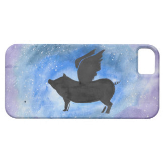 Majestic Flying Pig iPhone 5 Cover