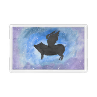 Majestic Flying Pig Tray