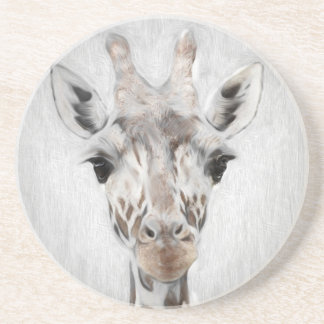 Majestic Giraffe Portrayed multiproduct selected Beverage Coaster