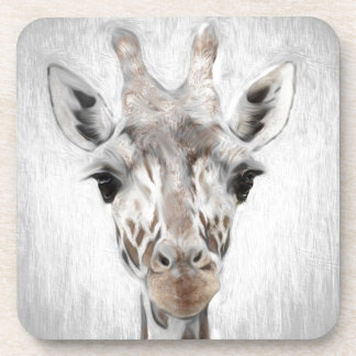 Majestic Giraffe Portrayed multiproduct selected Drink Coaster