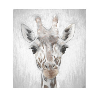 Majestic Giraffe Portrayed multiproduct selected Notepad