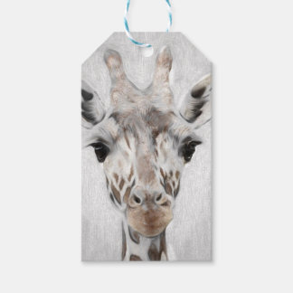 Majestic Giraffe Portrayed multiproduct selected Pack Of Gift Tags