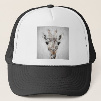 Majestic Giraffe Portrayed multiproduct selected Trucker Hat