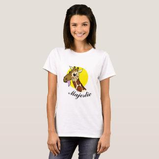 Majestic Giraffe T Shirt