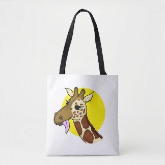 Majestic Giraffe Tote Bag