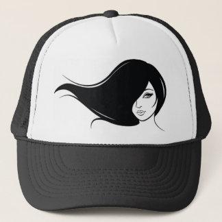 Majestic girls trucker hat