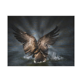 Majestic Goose Nature Photography Canvas Print