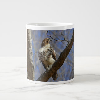 Majestic Hawk Large Coffee Mug