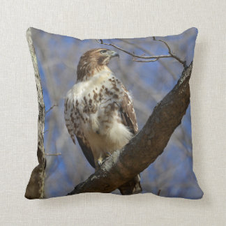 Majestic Hawk Throw Pillow