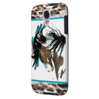 Majestic Horse Turquoise War Paint BiHrLe Cell