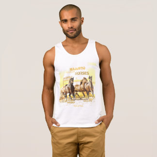 Majestic Horses Men's Cotton Tank Top