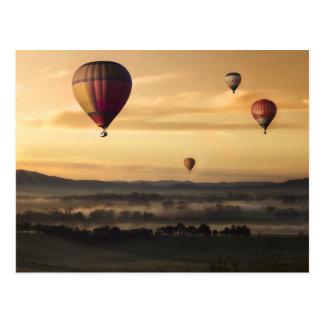 Majestic Hot Air Balloons Postcard