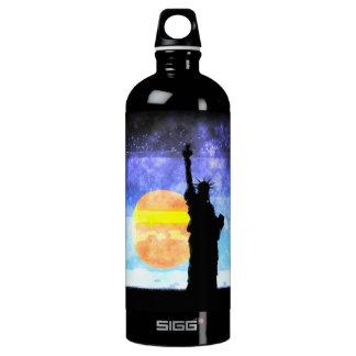 Majestic Lady Liberty Water Bottle