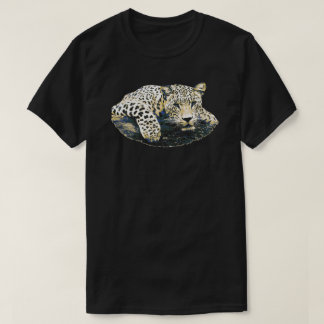 Majestic Leopard Graphic T-Shirt
