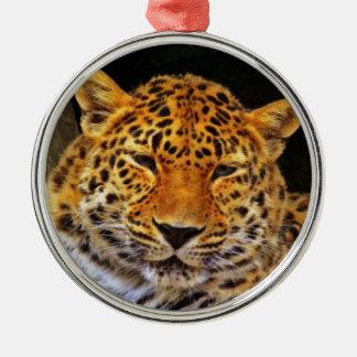 Majestic Leopard Ornament