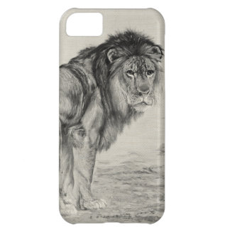 Majestic Lion Case For iPhone 5C