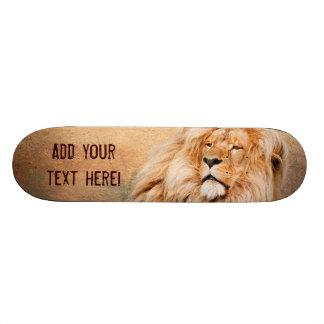 Majestic Lion Skateboard Deck