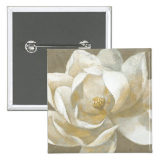 Majestic Magnolia 2 Inch Square Button
