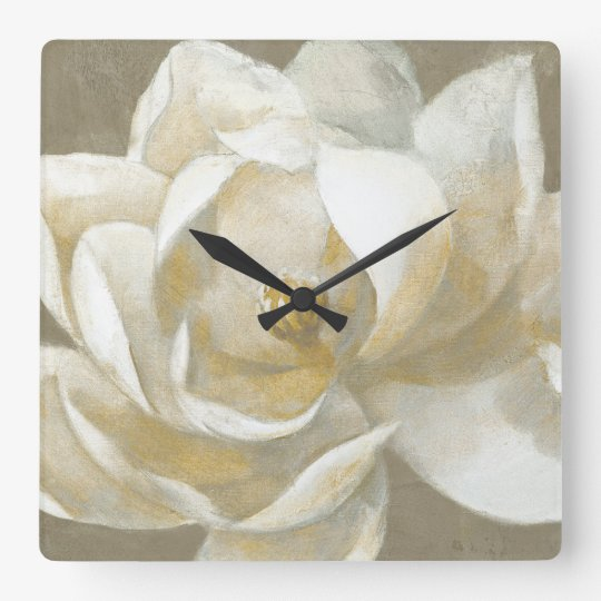 Majestic Magnolia Clocks