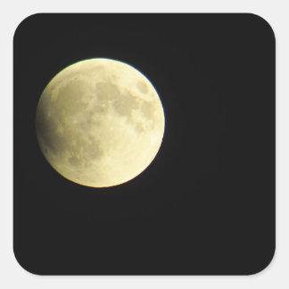 Majestic Moon Square Sticker