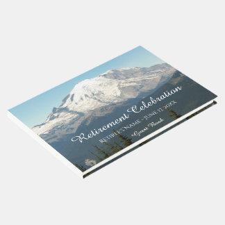 Majestic Mountain Retirement Celebration Guest Book