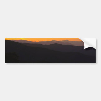 Majestic Mountains Bumper Sticker