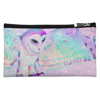 Majestic Owl Cosmetic Bag
