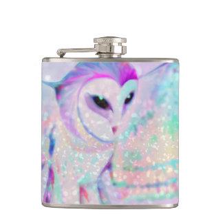 Majestic Owl Hip Flask
